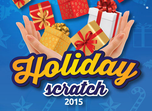 Super Food Plaza launches Holiday Scratch 2015